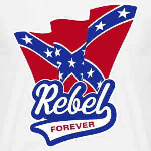 Rebel Forever Flag, T-Shirt - Men's T-Shirt