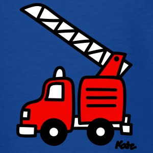 fire truck (c) Kids' Shirts - Teenage T-shirt