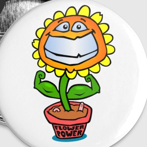 Flower Power Buttons - Buttons klein 25 mm