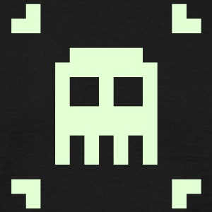 Indie Pixel Pusher Phosphorescent Black - Men's T-Shirt