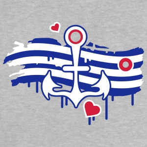 Anchors, hearts and a striped sails Baby Shirts  - Baby T-Shirt