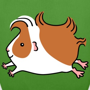 Leaping Guinea-pig - Brown and White - EarthPositive Tote Bag