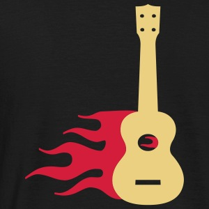 Burning Uke / Rockabilly Ukulele T-Shirts - Männer T-Shirt
