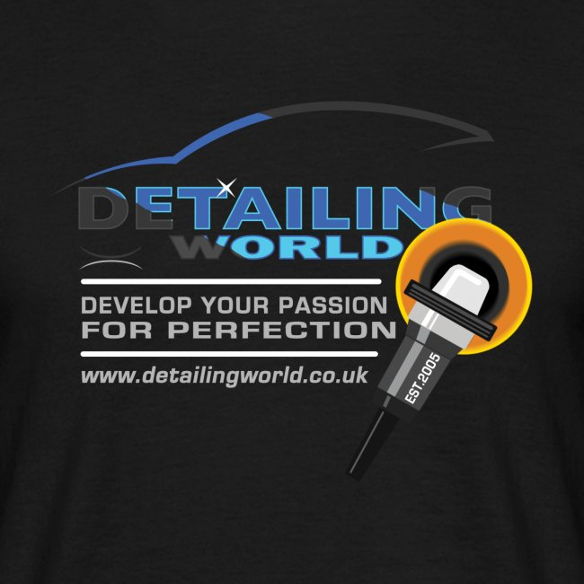 Detailing World 'Develop Your Passion' T-Shirt Coloured (Men's)