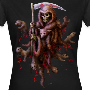 Death loves Fur (girl) - Frauen T-Shirt