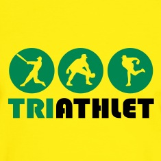 Yellow/green Triathlet T-Shirts