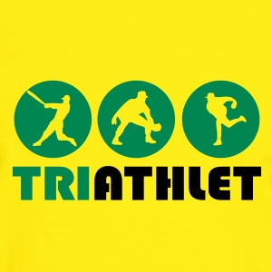 Yellow/green Triathlet T-Shirts - Men's Ringer Shirt