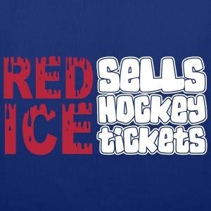 'Red Ice Sells Hockey Tickets' stofftasche - Stoffbeutel