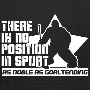 There is No Position in Sport As Noble As Goaltending Kids' Tops - Kids' Premium Hoodie