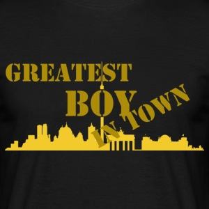 greatest boy in town T-Shirts - Männer T-Shirt