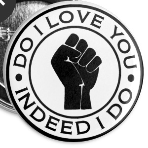 northern soul do i love you indeed i do button badge - Buttons medium 32 mm