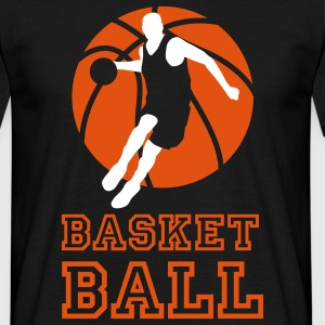 basketball_072011_l_2c T-shirts - Mannen T-shirt