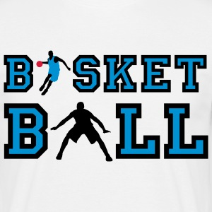 basketball_072011_o_3c T-shirts - Mannen T-shirt