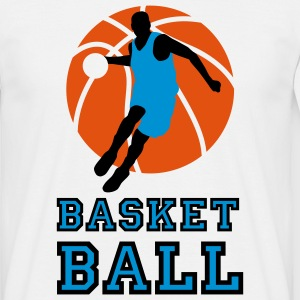 basketball_072011_p_3c T-shirts - Mannen T-shirt