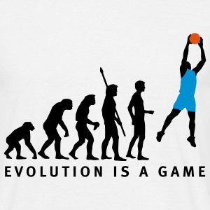 evolution_basketball_072011_b_3c T-Shirts - Men's T-Shirt