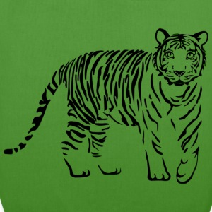 tiger katze löwe puma lion cougar cat zoo wild tiershirt shirt tiermotiv tigermotiv party Taschen - Bio-Stoffbeutel