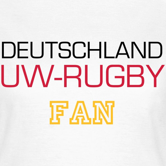 DE-UWR-Fan (Frauen)
