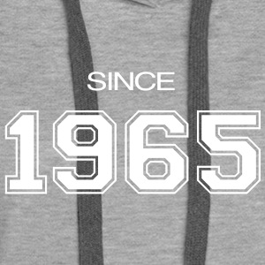 birthday gift 1965 Hoodies & Sweatshirts - Women's Premium Hoodie