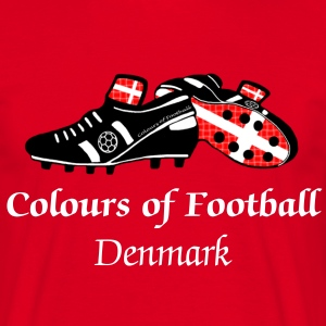 Denmark Football Custom t-shirt - Men's T-Shirt