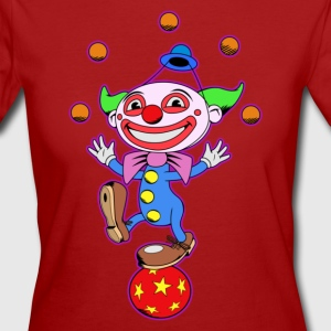 Clown - Frauen Bio-T-Shirt
