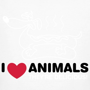 I Love Animals 3 (3c)++ T-shirts - Ekologisk T-shirt herr