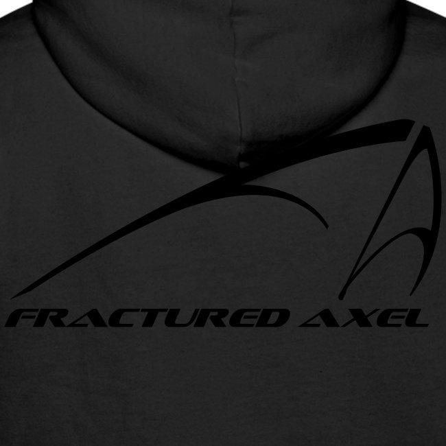 FA Logo hoodie - black print