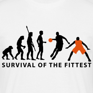 evolution_basketball_072011_g_2c T-shirts - Herre-T-shirt