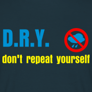 Design ~ Don't Repeat Yourself