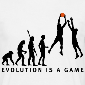 evolution_basketball_072011_c_2c T-Shirts - Men's T-Shirt