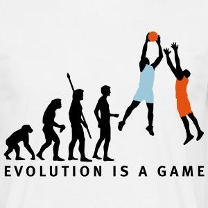 evolution_basketball_072011_c_3c T-Shirts - Men's T-Shirt