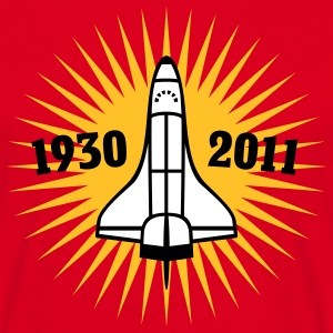 Shuttle | 1930 | 2011 T-Shirts - Mannen T-shirt