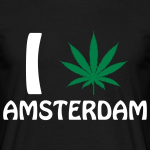 I Love Amsterdam Tee shirts - T-shirt Homme