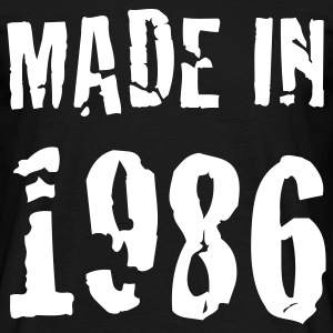 Made In 1986 T-Shirts - Men's T-Shirt