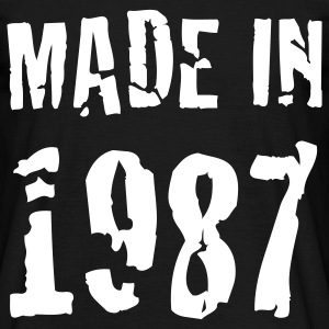 Made In 1987 Tee shirts - T-shirt Homme