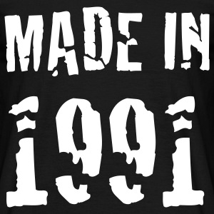 Made In 1991 T-Shirts - Männer T-Shirt