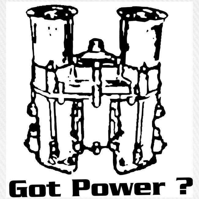 """1G3 Casquette motif """"IDA got power"""""""