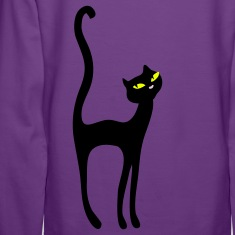 Retro Kittenish Cat by Patjila Hoodies & Sweatshirts