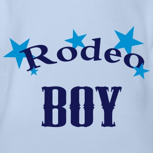 rodeo boy - Baby Bio-Kurzarm-Body