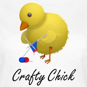 Craft Chick Humourous Cartoon T-Shirt - Women's T-Shirt