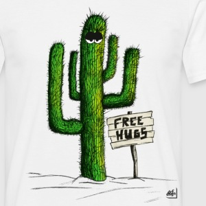 Free Hugs with Eyes T-Shirts - Männer T-Shirt