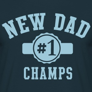 NEW DAD CHAMPS No1 T-Shirt LN - Men's T-Shirt