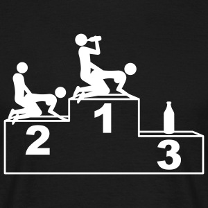 1_beer_and_sex_1c T-shirts - Mannen T-shirt