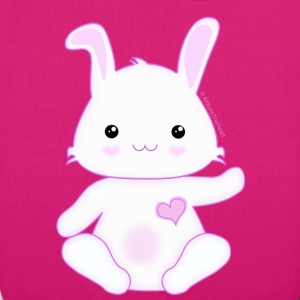 Cute Little Kawaii Bunny Rabbit - EarthPositive Tote Bag