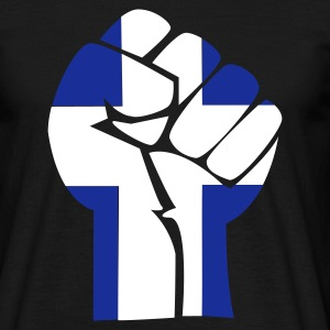 fist greece - Men's T-Shirt