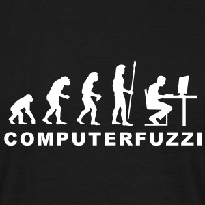 evolution_computerfuzzi T-Shirts - Männer T-Shirt