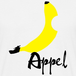 Banana / Apple Artwork T-shirts - T-shirt herr