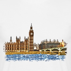 houses of parliament Tee shirts - T-shirt Homme