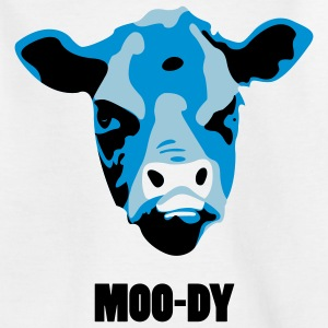 Moody Cow - Teenage T-shirt
