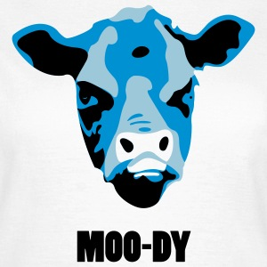 Moody Cow - Women's T-Shirt