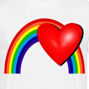 Rainbow Love T-Shirts - Men's T-Shirt